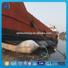 Good Performance Natural Rubber flotante Pontoon Airbags para la elevación de la nave