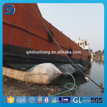 Bons coussins flottants en caoutchouc naturels de ponton de bonne performance pour le levage de bateau