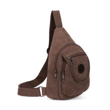 VAGULA Popular Coffee Canvas Shoulder Bags (HL6024)