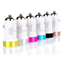 Universal usb car charger with led light 2100ma 5.3 v CE ROHS approved