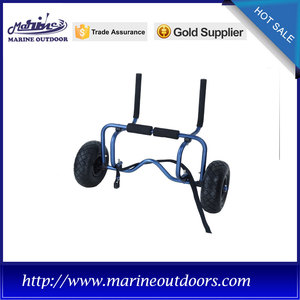 Free sample for Supply Kayak Trolley, Kayak Dolly, Kayak Cart from China Supplier Aluminum canoe and kayak carrier, Boat dolly cart, Aluminium trolley trailer export to Solomon Islands Importers
