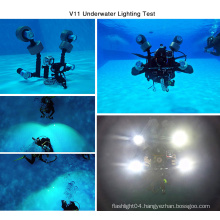 IP68 Top Selling Outdoor Searching Most Powerful LED Diving Flashlight