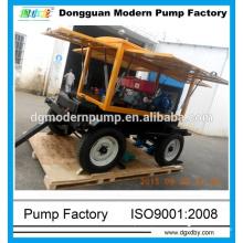 ZW series mobile diesel pump,diesel pump with trailer