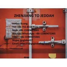 Jiangsu Zhenjiang Sea Freight to Saudi Arabia Jeddah