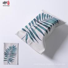 Caja de pañuelos de lino exquisita de calidad superior