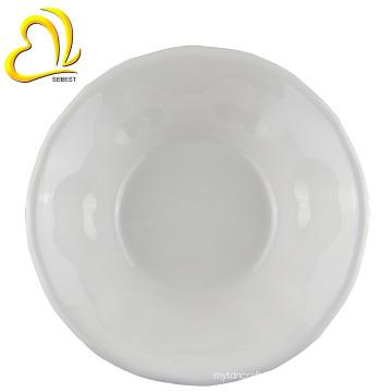 """Imitation ceramic design 8"""" round plastic melamine salad bowls"""