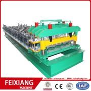 FX750 Glazed steel roof tile machine