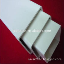 100/100mm PVC Square Pipe for Greenhouse Hydroponics Plant and Cable Protection