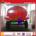Tri-Axle Carbon Steel Water Tanker Truck