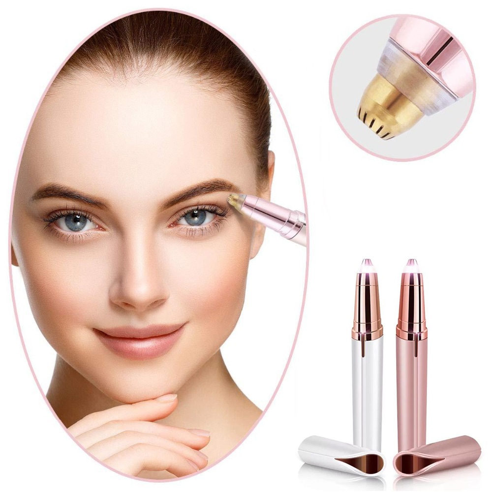 ladies electric eyebrow trimmer