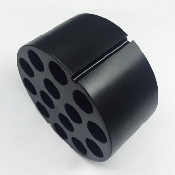 Machining Turning Black Delrin Parts for Centrifuge