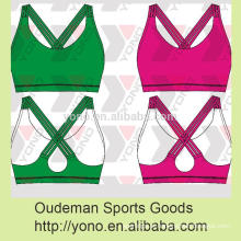Mulheres New Comfort Strappy Sport Bras