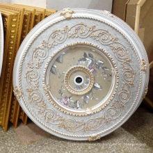 Runde PS Künstlerische Decke Medaillon Dekoration Material Dl-1169-5