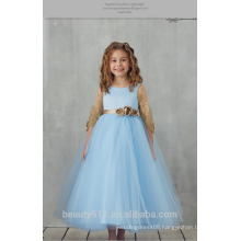 Girl party wear western dress baby girl party dress children frocks designs one piece party girls dresses ED693