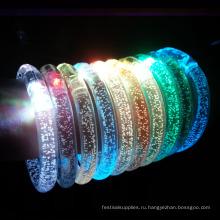 светодиодный свет вверх браслеты
