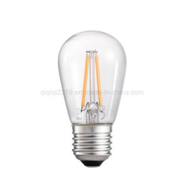 1,5 Вт Ст45 E27 прозрачный тусклый магазина светодиодные лампы с CE и RoHS
