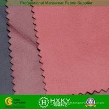 50d tissu de traitement de polyester de traitement de Cire pour la veste des hommes
