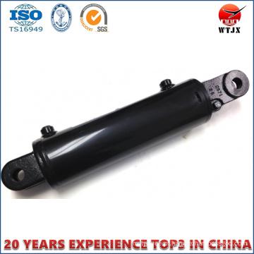 Cilindro hidráulico de cilindro de pistão cromado para máquinas agrícolas