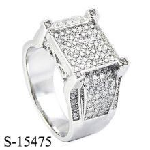 Neueste Design Modeschmuck 925 Silber Ring