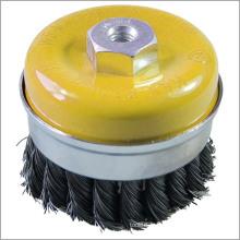 Outils de nettoyage Twist Knot Cup Brush M14 100mm Accessoires