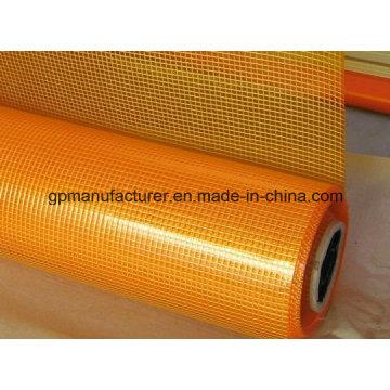 4X4 Orange Color Fiberglass Mesh