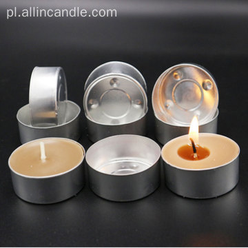 12g Tea Light Candle Aluminiowe kubki luzem