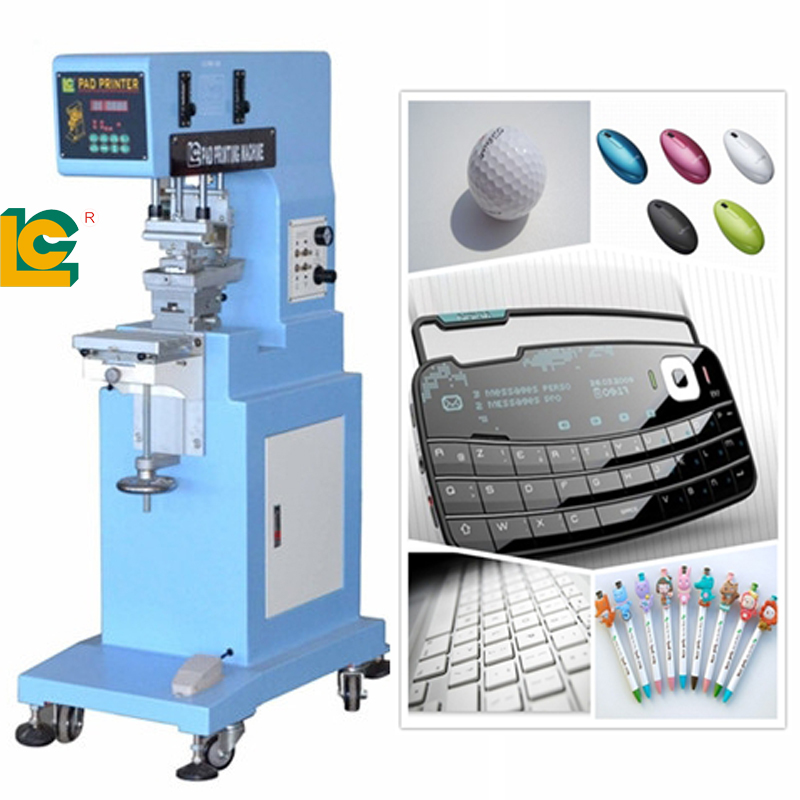 1 color semi auoto pad printing machine