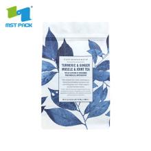 Saco de chá de amido de milho compostável vazio sustentável