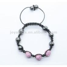 2012 Joya хрустальный шар бисер shamballa браслет ювелирные изделия