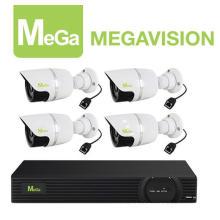 HD Onvif 4CH 720p Poe NVR Kit Mg-Nvk-8004A-4b