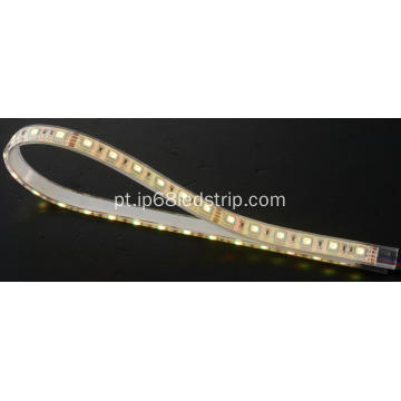 All In One SMD5050 60leds RGB Luz de tira led transparente