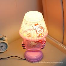 Hot vendas lâmpada de mesa do quarto / pode mudar a foto de cor lâmpadas de plástico e lanternas