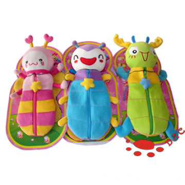Kids Insects Plush Pencil-Bag
