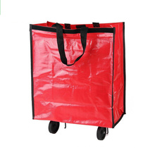trolley shopping bag,folding shopping bag with wheels