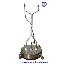 "24 ""Stainless Steel Surface Cleaner met Wielen"