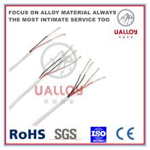 El cable de metal sobre la trenza ayuda a minimizar el ruido