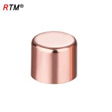 J17 4 10 2 cobre tubulação mamilo encaixe acessórios de cobre encanamento tubo de cobre cruz montagem
