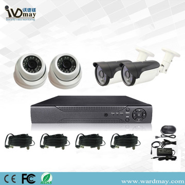 Systèmes DVR d'alarme de sécurité CCTV 4chs 2.0MP