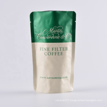 plastic stand up coffee packaging bag foodgrade