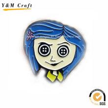 Metal Type Soft Enamel Magnetic Refrigerator Stickers Ym1067