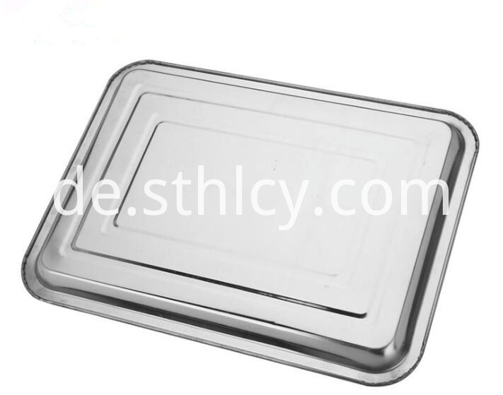 Stainless Steel Restaurant Plates