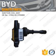ORIGINAL BYD f3 Ersatzteile IGNITION COIL ASSY ASSY 476Q-4D-3705800