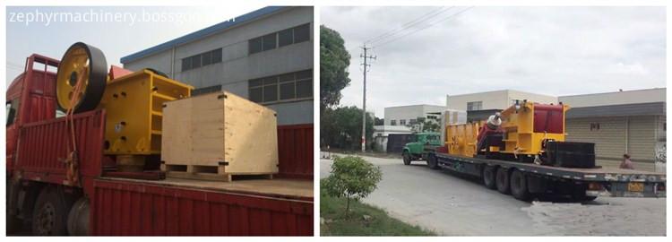 jaw crusher shipping