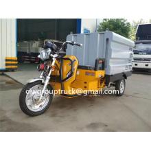 Coche de limpieza de alta presión eléctrico de tres ruedas