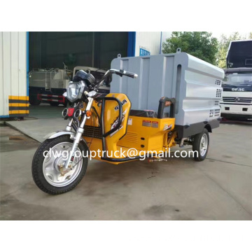 Electric three-wheel high pressure cleaning car