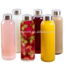 Regalo promocional de los nuevos productos más populares para la botella de agua de cristal