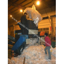 Plastic Film, Thick Wall Pipes Plastic Crusher Line Single Shaft Shredder Equipment