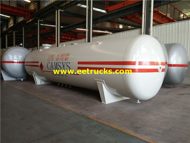 Horizontal Ammonia Storage Tanks