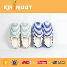 streak modern warm home slippers