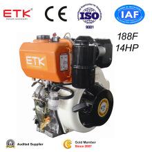 Vertical Single Cylinder Diesel Engine Set (ETK188F)